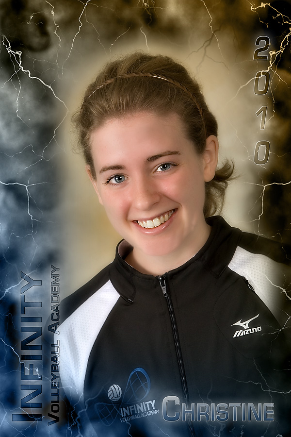 Poster Style #3 features Central Bucks East's Christine.